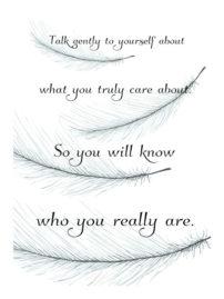talk gently